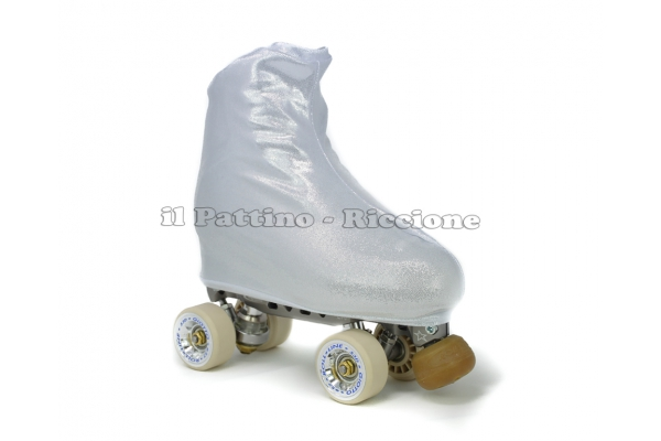 Cubre patines color plata