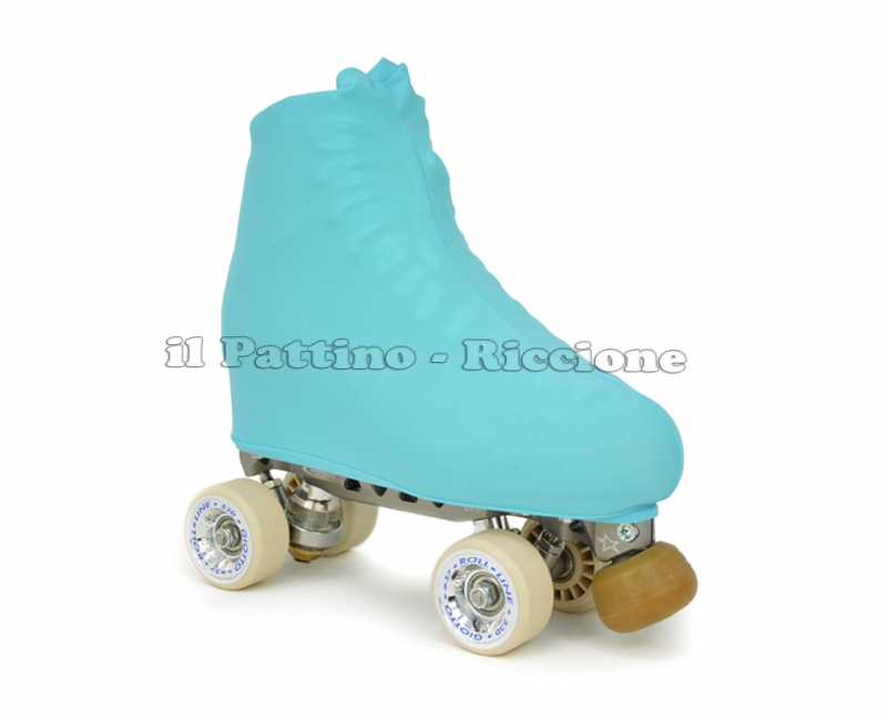 Cubre patines color azul claro