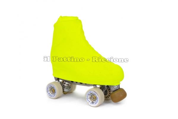 Cubre patines color amarillo fluo