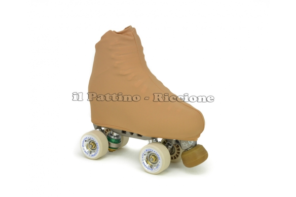 Cubre patines color natural - piel