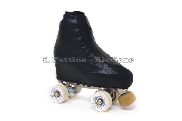 Cubre patines color negro metalizado