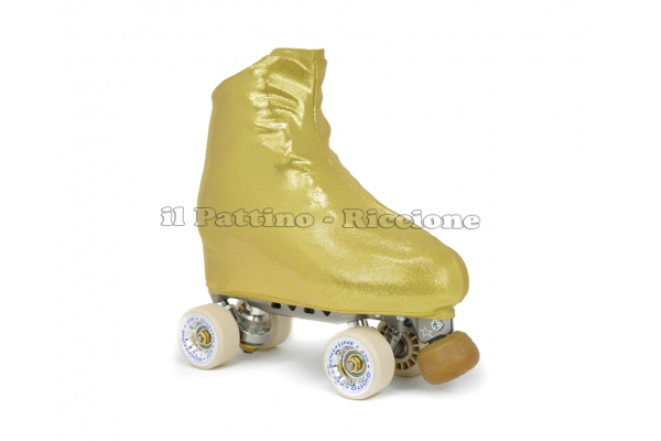 Cubre patines color oro