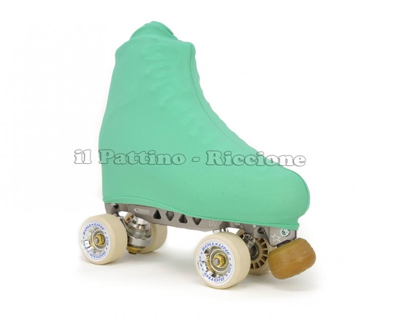 Cubre patines color esmeralda