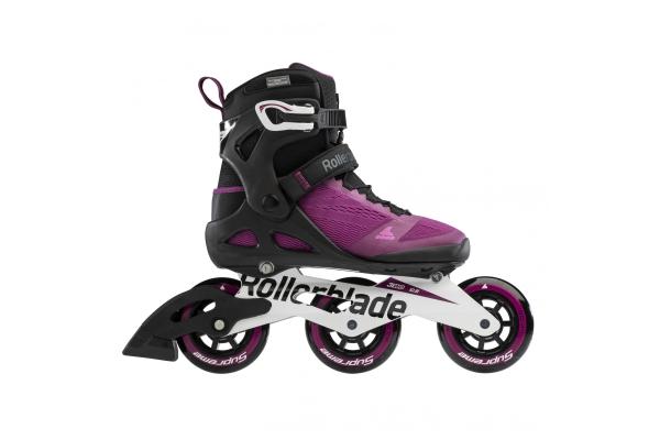 Patines en línea Rollerblade Macroblade 100 3WD púrpura / negro