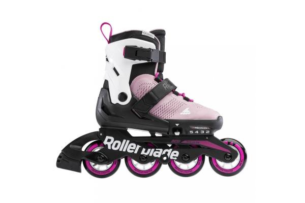 Patines Rollerblade Microblade rosa/blanco