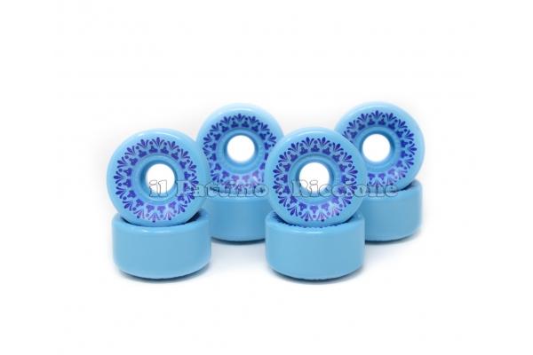 Ruedas Star Design CS 40 diam. 57 mm Azul